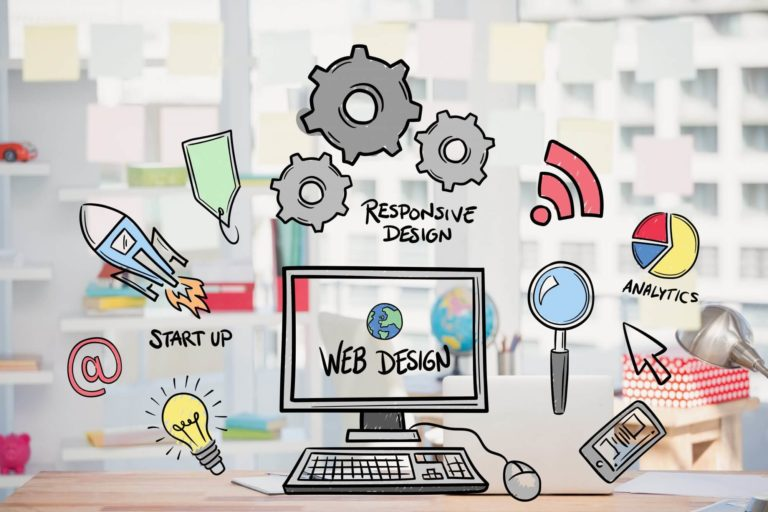 Website design & development- Social Maping